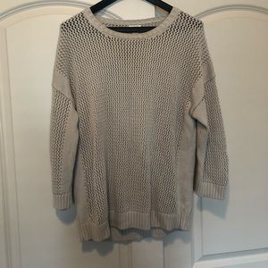 Women's grey j crew sweater